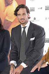 May 3, 2019 - Madrid, Spain - Feliciano Lopez to the party  presentation of the Mutua Madrid Open 2019, at the Prado Museum in Madrid, Spain, 03 May 2019. The Mutua Madrid Open runs from 3 until 12 May 2019. (Credit Image: © Oscar Gonzalez/NurPhoto via ZUMA Press)