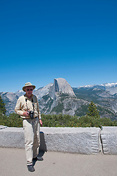 Photojournalist Lee Foster, Half Dome, from Glacier Point, Yosemite National Park, California, USA.  Photo copyright Lee Foster.  Photo # california122363