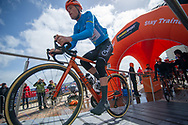 Jesper Asselman of Roompot Charles in Bridlington Prior to the start of the third stage of the Tour de Yorkshire from Bridlington to Scarborough, , United Kingdom on 4 May 2019.