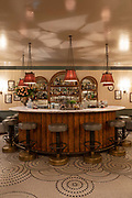Kettners Townhouse champagne bar on the 4th October 2019 in London in the United Kingdom.