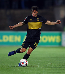 Roland Putsche of Cape Town City during the 2016 Premier Soccer League match between Golden Arrows and Cape Town City FC held at the Prince Magogo Stadium in Durban, South Africa on the 14th September 2016<br /> <br /> Photo by:   Steve Haag / Real Time Images