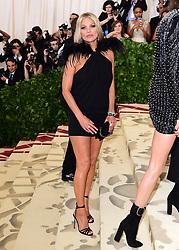 Kate Moss attending the Metropolitan Museum of Art Costume Institute Benefit Gala 2018 in New York, USA.
