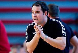 Assistant coach  of Gorenje Branko Tamse at handball match of MIK 1st Men league between RD Slovan and RK Gorenje Velenje, on May 16, 2009, in Arena Kodeljevo, Ljubljana, Slovenia. Gorenje won 27:26. (Photo by Vid Ponikvar / Sportida)