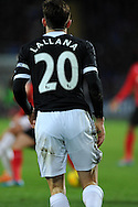 Southampton's Adam Lallana . Barclays Premier league, Cardiff city v Southampton at the Cardiff city Stadium in Cardiff,  South Wales on Boxing day, Thursday 26th Dec 2013. <br /> pic by Andrew Orchard, Andrew Orchard sports photography.