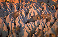 Goreme, Cappadocia, Nevsehir, Turkey. Although toursim is upcoming, many people still live of their traditional livelyhood. they work the fields in the fairy chimney landscape of Cappadocia and the Goreme National Park. Photo by Frits Meyst/Adventure4ever.com