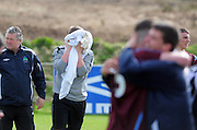 Wicklow's Goalie Cormac O'Brien devastated in Drom Galway   . Phtoto:Andrew Downes