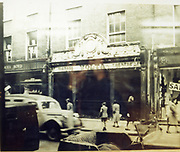 Old Dublin Amature Photos 1940s WITH, Old Shop, Kilmainham, Inchicore Post Office, James St, Church, Parlement St, Drumcondra Park Old Shop, Volta Cinema 1940s