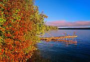Autumn on Waskasiu Lake<br /> Prince Albert National Park<br /> Saskatchewan<br /> Canada