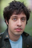 Musician Adam Green poses for a portrait in New York...Photo by Robert Caplin.