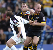 Wycombe. GREAT BRITAIN, 10th October 2004, Guinness Premiership Rugby, London Wasps and Newcastle Falcons, Adams Park, ENGLAND. [Mandatory Credit; Pete Spurrier/Intersport-images]<br /> <br /> Wasps Alex King.