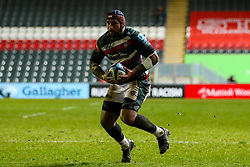 Nemani Nadolo of Leicester Tigers  - Mandatory by-line: Nick Browning/JMP - 29/01/2021 - RUGBY - Mattioli Woods Welford Road - Leicester, England - Leicester Tigers v Sale Sharks - Gallagher Premiership Rugby