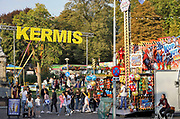Nederland, Nijmegen, 7-10-2018De jaarlijkse najaarskermis is voor het eerst uitgebreid tot in het valkhofpark .Foto: Flip Franssen