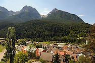 Switzerland, Engadin, Scuol