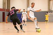 FUTSAL: Regionalliga Nord, HSV Panthers - FC Fortis, Hamburg, 07.03.2020<br /> Michael Meyer (HSV Panthers, r.)<br /> © Torsten Helmke