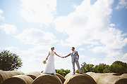 2013 August 10 - The wedding of Heidi Fouch and Luke Bell in Adell, Iowa.