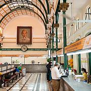 Ho Chi Minh Portrait In Saigon Central Post Office