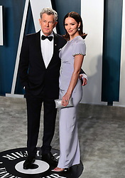 David Foster and Katharine McPhee attending the Vanity Fair Oscar Party held at the Wallis Annenberg Center for the Performing Arts in Beverly Hills, Los Angeles, California, USA.