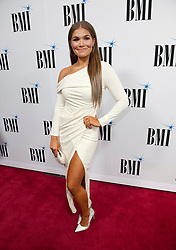 Nov. 13, 2018 - Nashville, Tennessee; USA - Musician ABBY ANDERSON attends the 66th Annual BMI Country Awards at BMI Building located in Nashville.   Copyright 2018 Jason Moore. (Credit Image: © Jason Moore/ZUMA Wire)