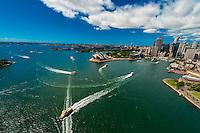 Ferry boats, Circular Quay, Sydney Harbor, Sydney, New South Wales, Australia