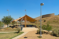 Rest Area on Interstate 40 in Texas