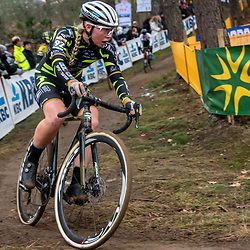 26-12-2019: Cycling: CX Worldcup: Heusden-Zolder: Estonian rider Katlin Kukk pictured during the worldcup race in Heusden Zolder