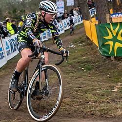 26-12-2019: Cycling: CX Worldcup: Heusden-Zolder: Estonian rider Katlin Kukk pictured during the worldcup race in Heusden Zolder