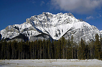 Mount Aylmer,  Banff National Park, Alberta, Canada   Photo: Peter Llewellyn