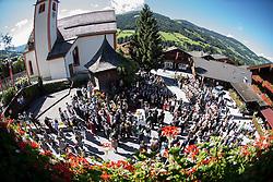 17.08.2014, Kongress, Alpbach, AUT, Forum Alpbach, Tiroltag, im Bild Übersicht auf die Eröffnungsfeier // during the tyrol Day of European Forum Alpbach at the Congress in Alpach, Austria on 2014/08/17. EXPA Pictures © 2014, PhotoCredit: EXPA/ Johann Groder