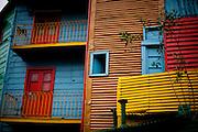 Buenos Aires, Argentina...Imagens da cidade de Buenos Aires, capital da Argentina. Caminito. Casas coloridas, bairro turistico e popular de Buenos Aires. Bairro La Boca. ..The coloured houses of Caminito, a popular and touristic borough of Buenos Aires city...Foto: JOAO MARCOS ROSA / NITRO