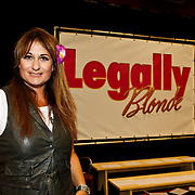 NLD/Amsterdam/20100823 - Perspresentatie musical Legally Blonde, Laura Vlasblom