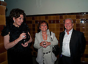 francine Peters; louise tenzer; mark tenzer; michael brennan, DESCENT OF MAN. WOLFE LENKIEWICZ . collectors and patrons dinner. 1 MELTON ST. NW1. CHAMPAGNE RECEPTION AND DINNER
