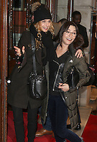 Maryam d'Abo & Amanda Donohoe, Mrs Henderson Presents - Press Night, Noel Coward Theatre, London UK, 16 February 2016, Photo by Brett D. Cove
