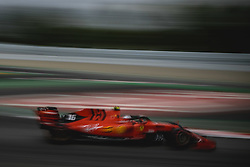 May 11, 2019 - Barcelona, Catalonia, Spain - CHARLES LECLERC (MON) from team Ferrari drives in his SF90 during the third practice session of the Spanish GP at Circuit de Catalunya (Credit Image: © Matthias Oesterle/ZUMA Wire)