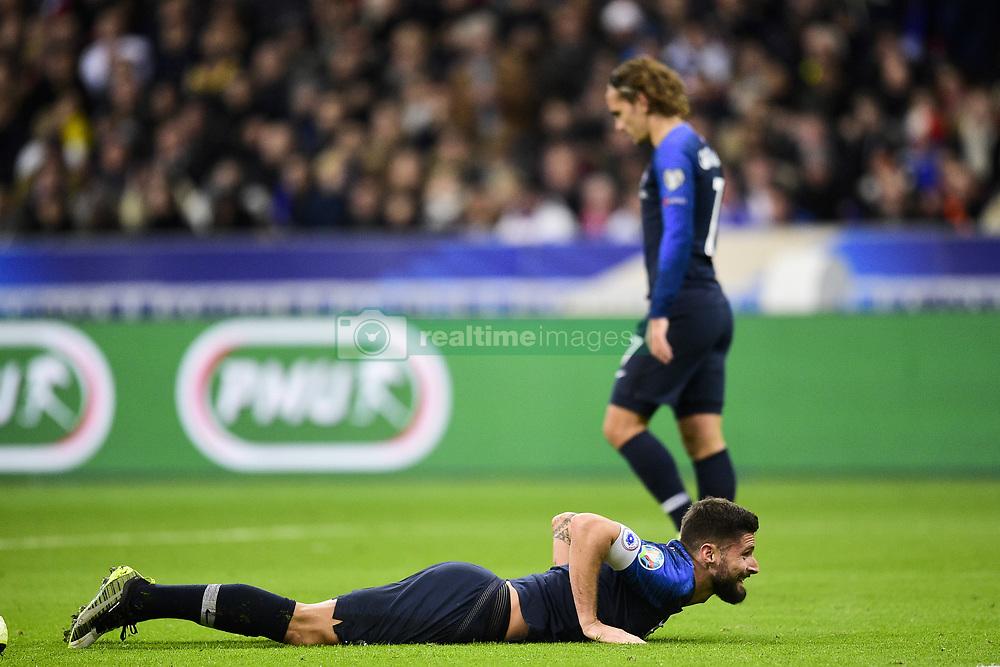 November 14, 2019, Paris, France, France: deception de Olivier Giroud et Antoine Griezmann  (Credit Image: © Panoramic via ZUMA Press)