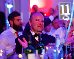 CARDIFF, WALES - Wednesday, June 1, 2016: FAW Chief-Executive Jonathan Ford during a charity send-off gala dinner at the Vale Resort Hotel ahead of the UEFA Euro 2016. (Pic by David Rawcliffe/Propaganda)
