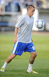 Bristol Rovers' Eliot Richards - Photo mandatory by-line: Joe Meredith/JMP - Tel: Mobile: 07966 386802 12/07/2013 - SPORT - FOOTBALL - Bath - Twerton Park -  Bath City v Bristol Rovers - Pre Season Friendly - Npower League Two