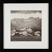 """Title: Great Dunes National Park, CO<br /> Artist: Osvaldo Bins Ely<br /> Date: 2015<br /> Medium: Etching/aquatint<br /> Dimensions: 20 x 20""""<br /> Instructor: Terri Goodhue<br /> Status: Available<br /> Location: HLC4000 Storage"""