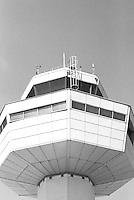 Tårnet på flyplassen i Dubrovnik.<br /> Foto: Svein Ove Ekornesvåg