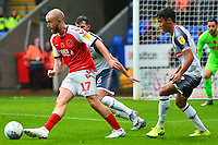 Fleetwood Town's Paddy Madden in action<br /> <br /> Photographer Richard Martin-Roberts/CameraSport<br /> <br /> The EFL Sky Bet League One - Bolton Wanderers v Fleetwood Town - Saturday 2nd November 2019 - University of Bolton Stadium - Bolton<br /> <br /> World Copyright © 2019 CameraSport. All rights reserved. 43 Linden Ave. Countesthorpe. Leicester. England. LE8 5PG - Tel: +44 (0) 116 277 4147 - admin@camerasport.com - www.camerasport.com