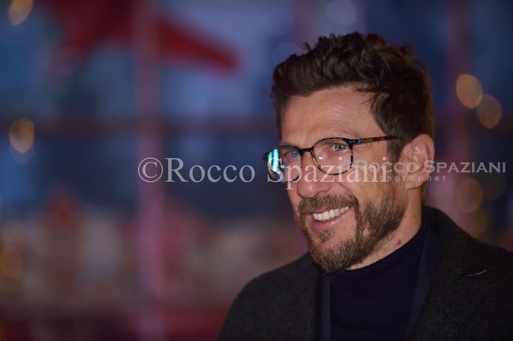 Eusebio Di Francesco Super Vacanze di Natale premiere, Red carpet, Rome, Italy - 12 Dec 2017