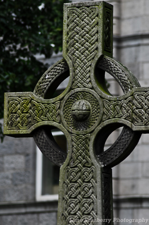 Celtic Cross in Aberdeen, Scotland