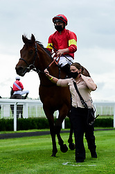 Devil's Cub ridden by Tom Marquand and trained by Tom Ward in the visitbath.co.uk Nursery Handicap - Mandatory by-line: Ryan Hiscott/JMP - 24/08/20 - HORSE RACING - Bath Racecourse - Bath, England - Bath Races