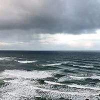 Pacific Ocean, Oregon.