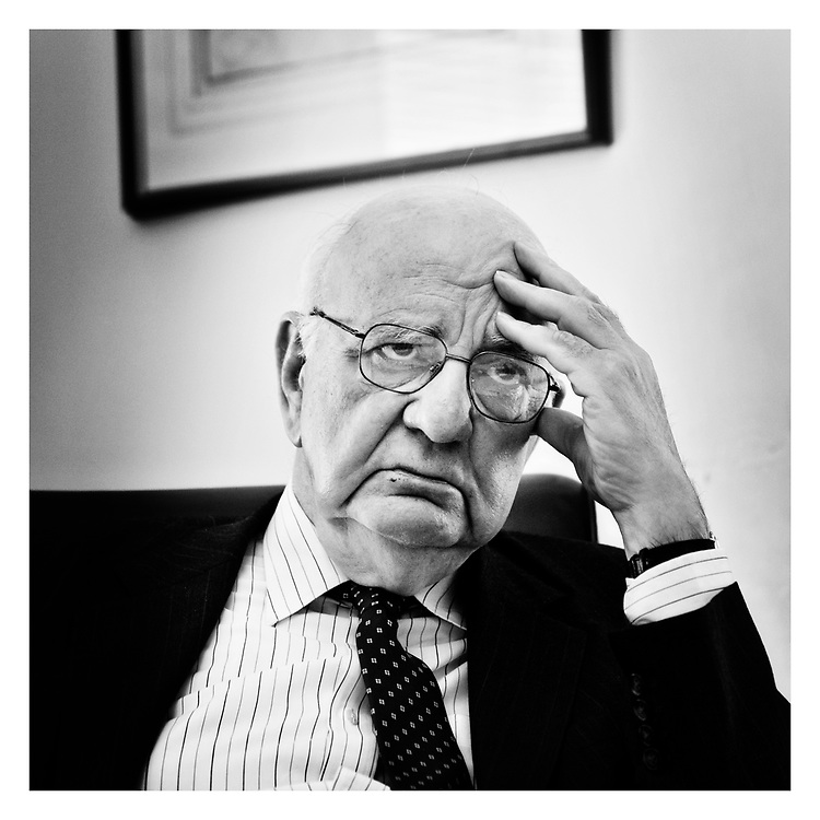 Paul Volcker .  Former Chairman of the Federal Reserve . NYC