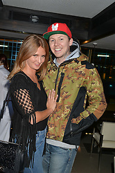 MILLIE MACKINTOSH and PROFESSOR GREEN at the launch of Broadgate Circle, City of London on 9th June 2015.