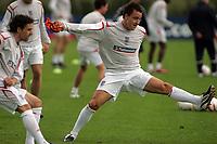 Photo: Paul Thomas.<br /> England training at Carrington. 30/08/2006. <br /> <br /> John Terry.