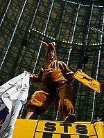 Photo: Glyn Thomas.<br />Brazil v Australia. Group F, FIFA World Cup 2006. 18/06/2006.<br /> An Australian fan dressed as a kangaroo.