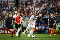 July 11, 2018 - Moscow, Vazio, Russia - Harry KANE of England during a game between England and Croatia valid for the semi final of the 2018 World Cup, held at the Lujniki Stadium in Moscow, Russia. Croatia wins 2-1. (Credit Image: © Thiago Bernardes/Pacific Press via ZUMA Wire)