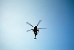 Helicopter Take Off From White House