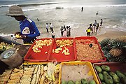 Colombo, Sri Lanka. At Galle Face Hotel Beach next to Hotel.